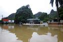 """Mưa lớn tiếp tục ''đe dọa"""" Quảng Ninh"""