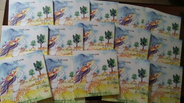 Đinh Thị Lan Anh, tập thơ Tìm thương yêu suốt một đời đi vắng