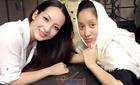 Diễn viên Linh Nga thăm bạn thân Khánh Thi
