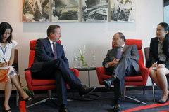 Thời tiết và chuyến thăm VN của Thủ tướng Anh