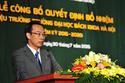 Hiệu trưởng ĐH Bách khoa HN nói gì trong lễ nhậm chức?