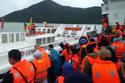 Hành trình vượt sóng của du khách mắc kẹt ở Cô Tô