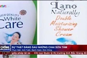 Sự thật kinh hoàng về sữa tắm dê nhập khẩu