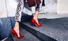 Quyến rũ tuyệt đối với giày gót nhọn