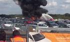 Máy bay chở gia đình bin Laden rơi tại Anh