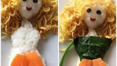 Mẹ Việt chia sẻ cách trang trí món ăn cho con khiến các mẹ mê mẩn