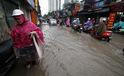 Hà Nội- Nam Định- Thái Bình chung cảnh ngập sau mưa lớn