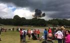 Tai nạn máy bay gần một lễ hội ở Anh
