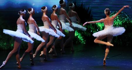 Khoảnh khắc đẹp của vở ballet 'Hồ Thiên Nga' tại Việt Nam
