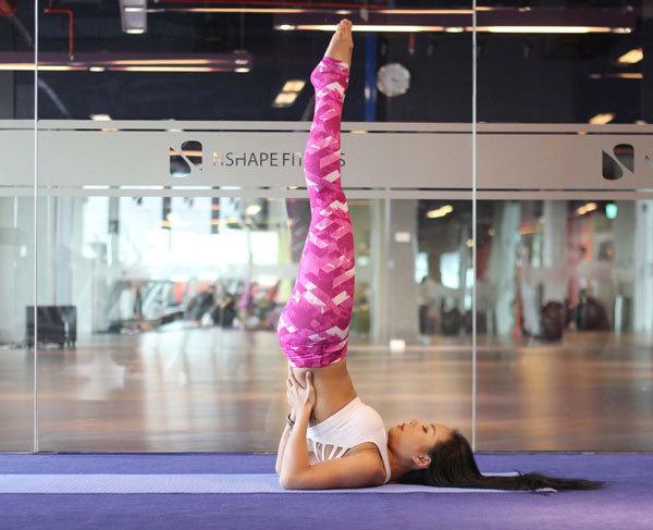 động tác, yoga, tập luyện, giảm cân