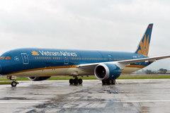 Vietnam Airlines đón nhận tàu bay 787-9 Dreamliner đầu tiên