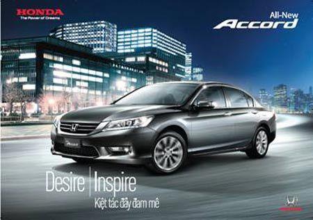 Honda Accord 2015 - thêm tiện ích, giữ giá bán