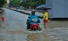 Thành phố Hạ Long lại chìm trong biển nước