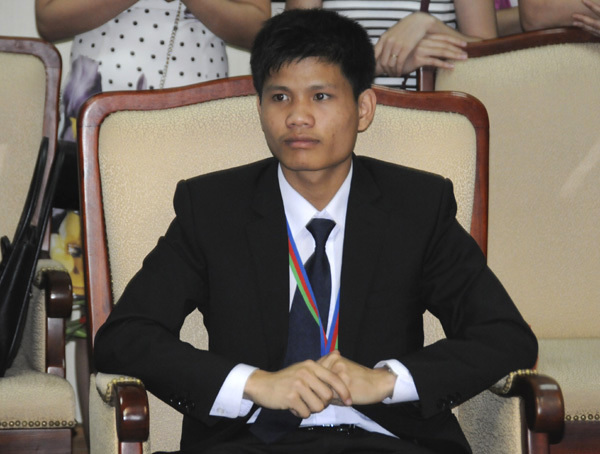 Trần Đình Hiếu, Olympic Hóa học 2015, Huy chương Bạc