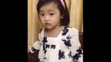 Clip bé gái nịnh mẹ ngọt lịm lan truyền Facebook