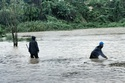 Đông Bắc Bộ bớt mưa, nước sông xuống nhanh