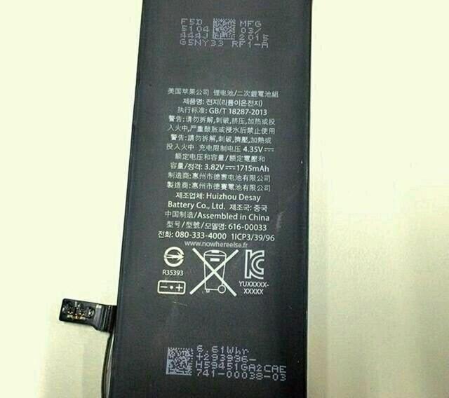 iPhone 6s sở hữu viên pin hẻo hơn cả iPhone 6?