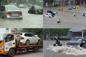 Bí kíp lái xe qua đường ngập nước
