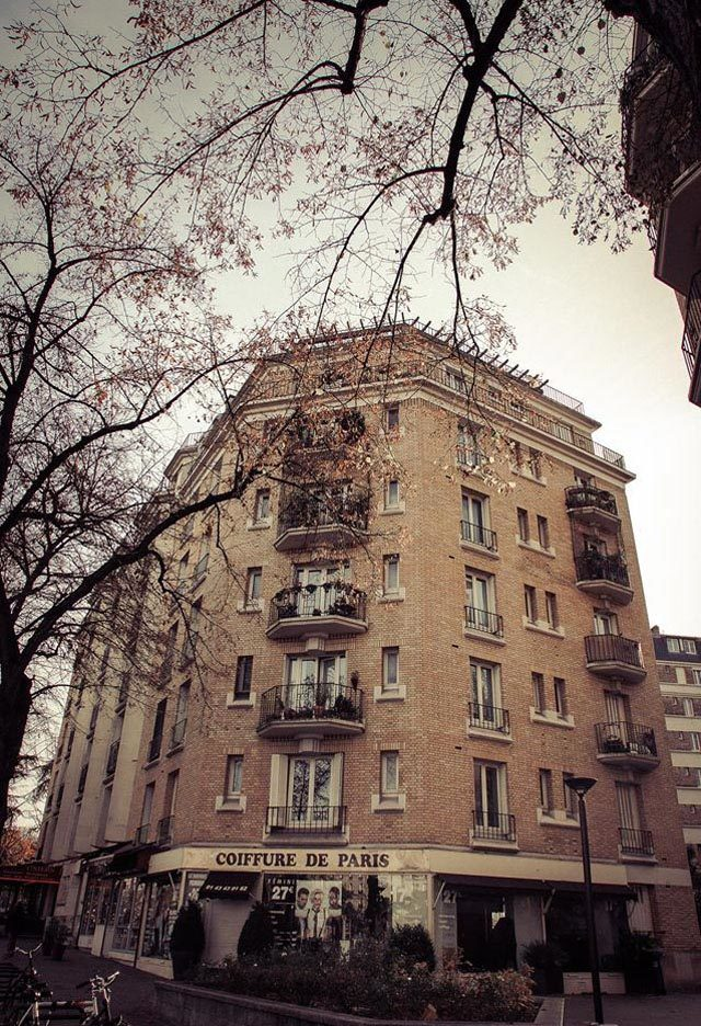Chạm vào mùa thu Paris