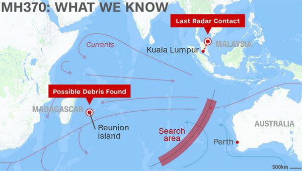 MH370, đảo Reunion, nổi tiếng, bí ẩn