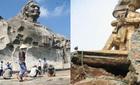 Những tượng đài tiền tỉ vừa hoàn thành đã xuống cấp