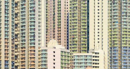 Những 'hình khối' mê hoặc ở Hong Kong