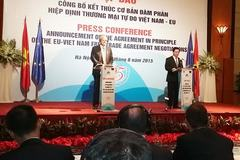 Việt Nam- EU kết thúc đàm phán thương mại tự do