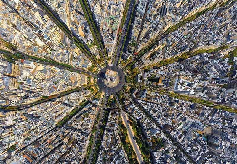Những hình ảnh hút hồn về thế giới từ trên cao - 10