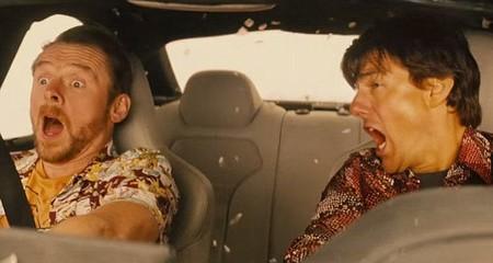 Bạn diễn sợ chết khiếp vì ngồi trong xe của Tom Cruise
