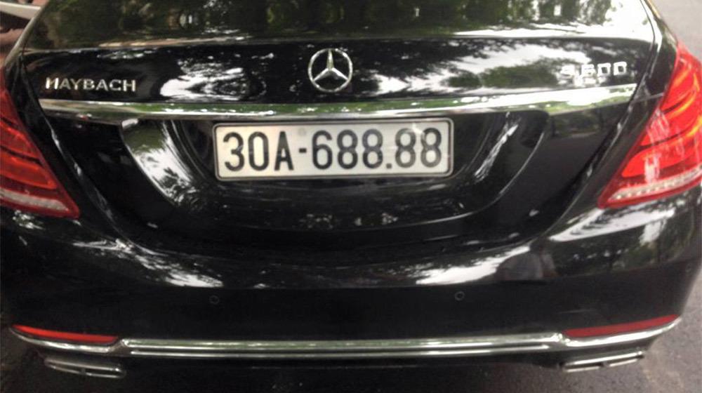 xe siêu sang, Mercedes-Maybach S600, biển trắng