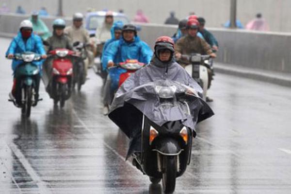 Hà Nội, nhiệt độ, tăng nhẹ, mưa rào và dông