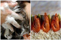 Phát hiện tác dụng dưỡng tóc tuyệt vời của vỏ tôm