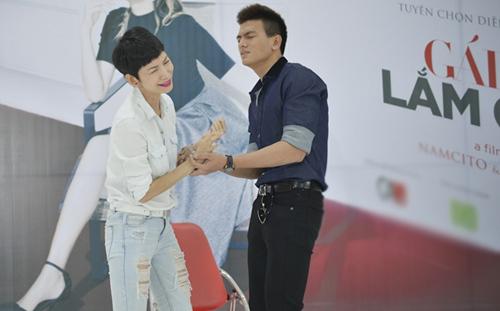 Diễm My 9x hóa 'gái già' cặp bồ Bình Minh trong phim mới
