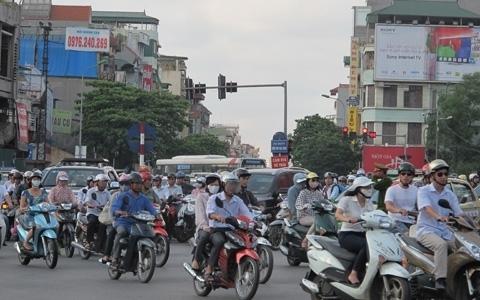 phí đường; xe máy; Hà Nội