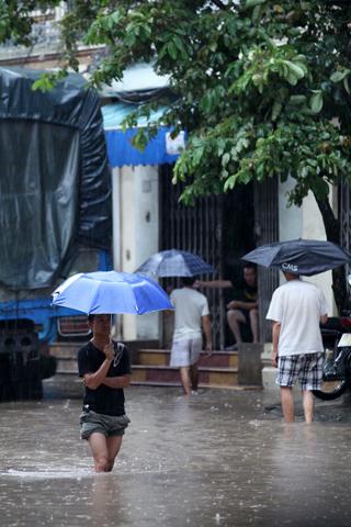 ngập; Hà Nội; bão số 5
