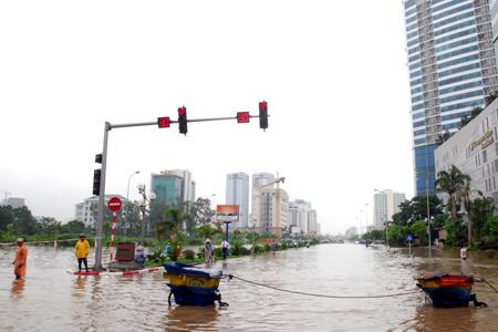 Hà Nội; ngập; bão số 6; lụt