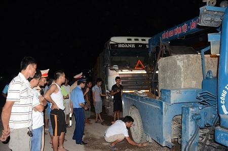 Phó Giám đốc Sở, Nghệ An, cẩu kéo, xe tải, trạm cân
