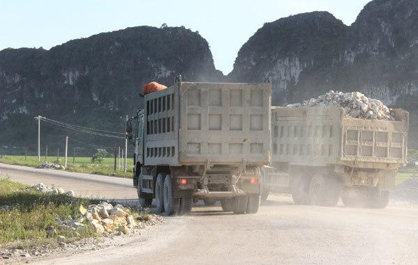 xe quá tải; trạm cân; Ninh Bình
