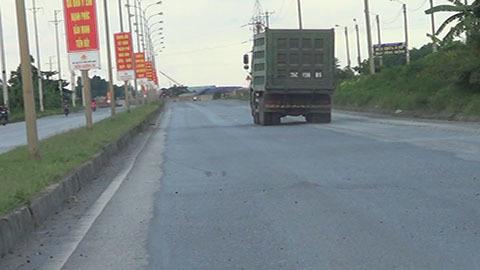 xe quá tải; trạm cân; Tam Điệp; Ninh Bình