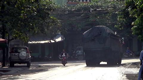Vàng Danh; Uông Bí; Ninh Bình; xe quá tải, hổ vồ