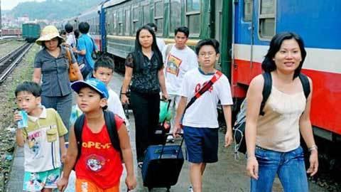 tàu tết, vé, ga Sài Gòn
