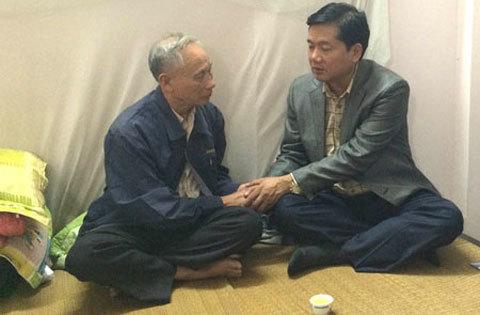 chia sẻ, Bộ trưởng, Đinh La Thăng, đường trên cao, nỗi đau, tấm lòng