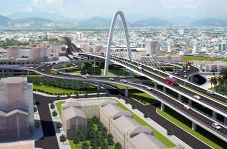 Công trình; cầu vượt; 100 triệu USD; Đà Nẵng; ngã ba Huế