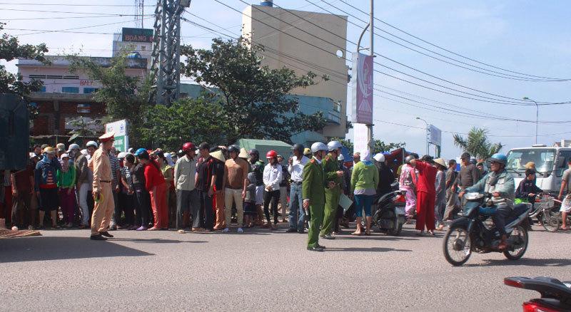 va quệt, xe tải, nữ sinh, chết thảm, trên đường đi học, Bình Định