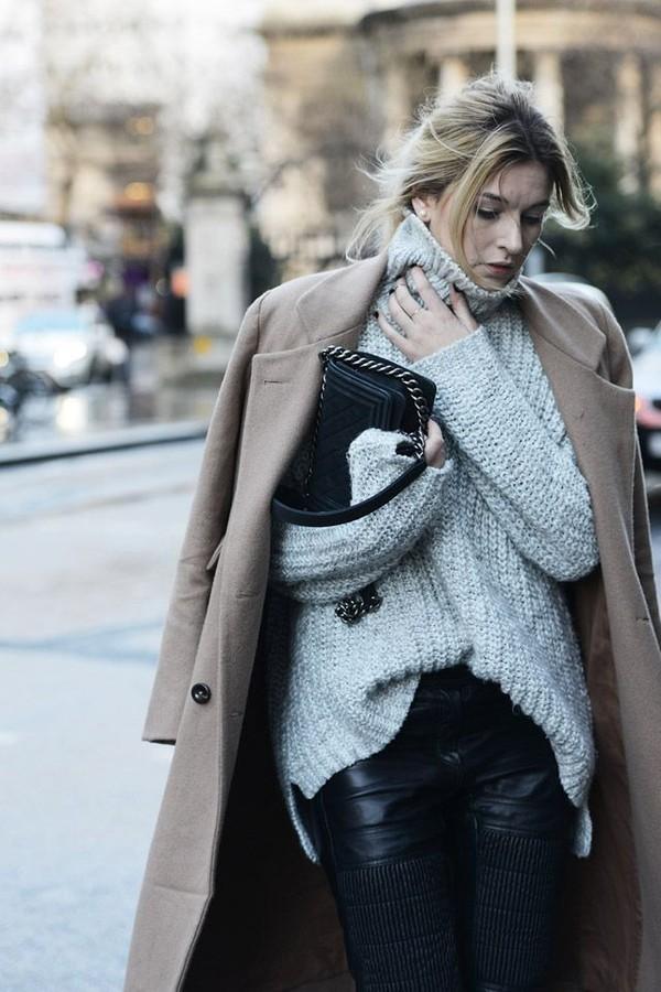 áo len, phối đồ