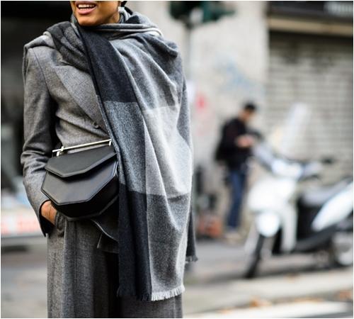 khăn quàng, mùa đông, phong cách