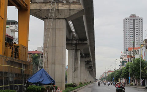 đường sắt, trên cao, Cát Linh - Hà Đông, Tổng thầu, Trung Quốc, thất hứa, chậm tiến độ, dự án