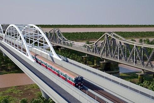 cầu Long Biên; cầu mới