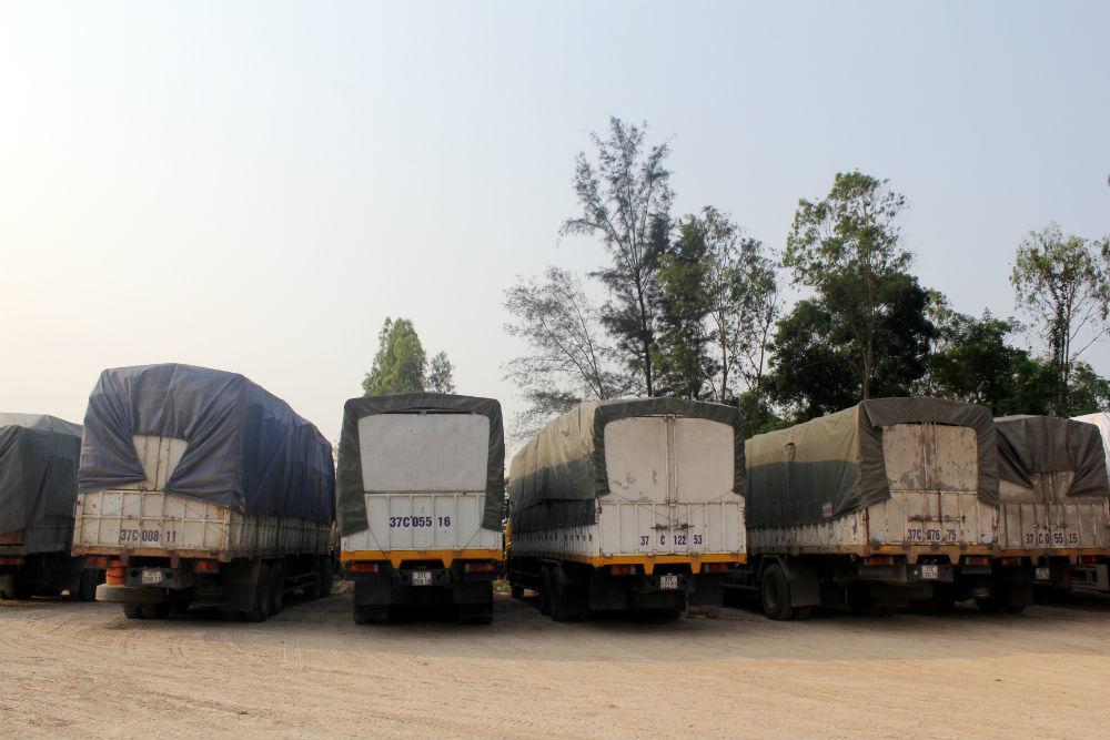 xe tải, đầy gỗ, phủ bạt, kín bưng, né trạm cân, Nghệ An